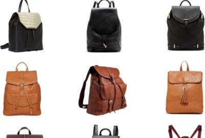 Currently Obsessed With // Backpack Purses