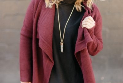 Outfit Post // Burgundy