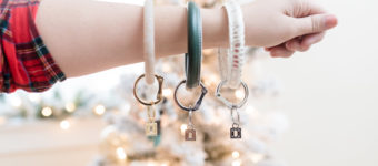 BIG O RING KEY CHAIN + Giveaway