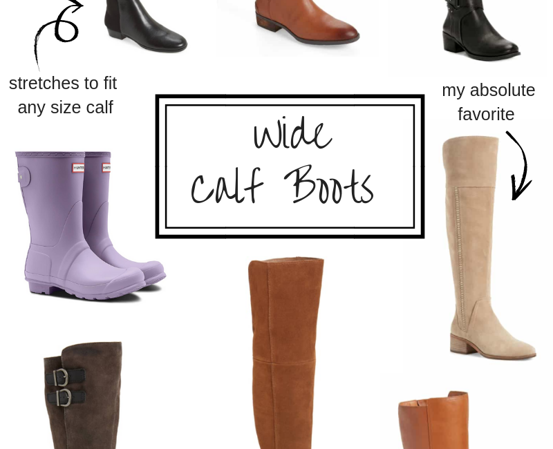 Wide Calf Boot Guide