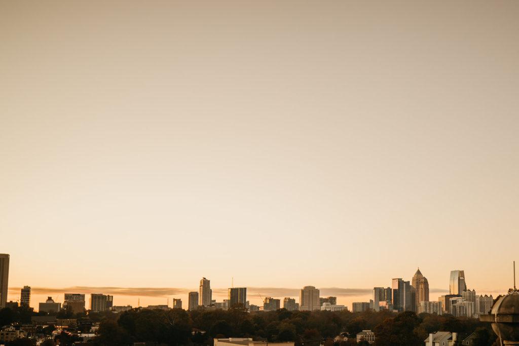 48 hours in Atlanta Guide: Scenic view of Atlanta Skyline