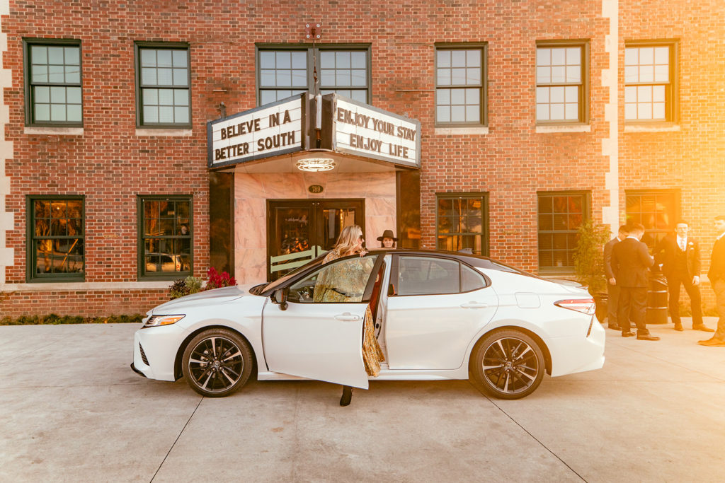 48 hours in Atlanta Guide: Parking Toyota Camry in front of Clermont Hotel