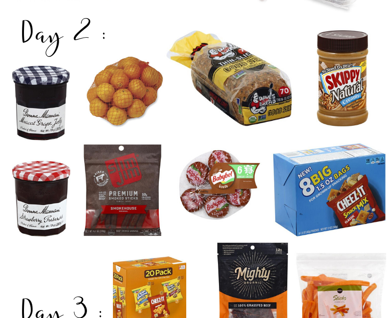 What snacks to pack for Disney World