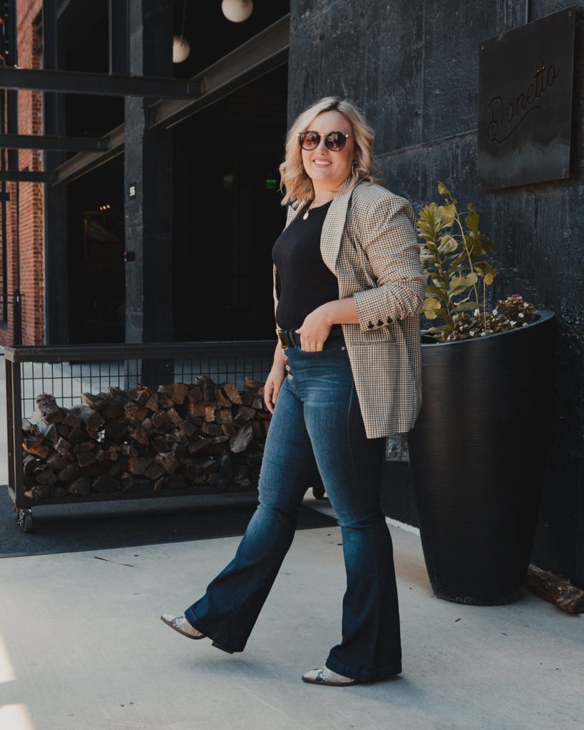 Must have denim flare from walmart