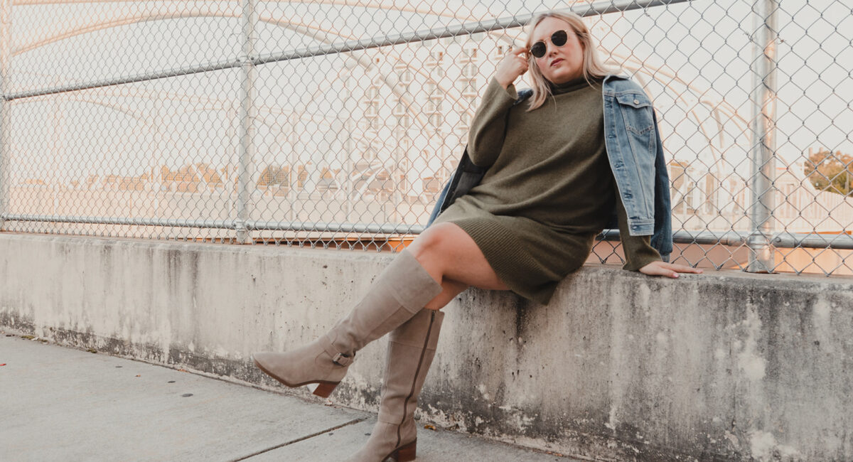 2 must have sweater dresses