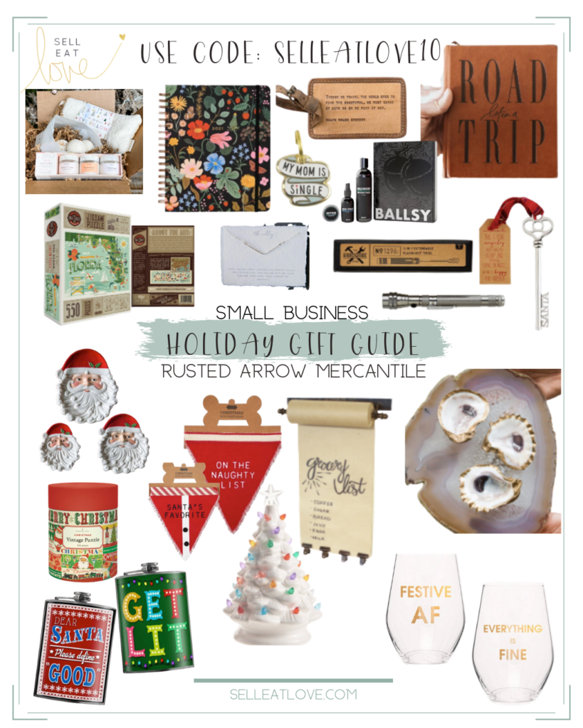 Gift Guide Small Business - Rusted Arrow Mercantile
