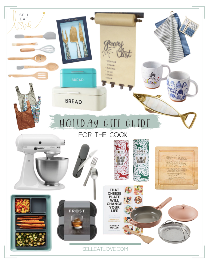 Gift Guides for The Cook - various cooking gift ideas