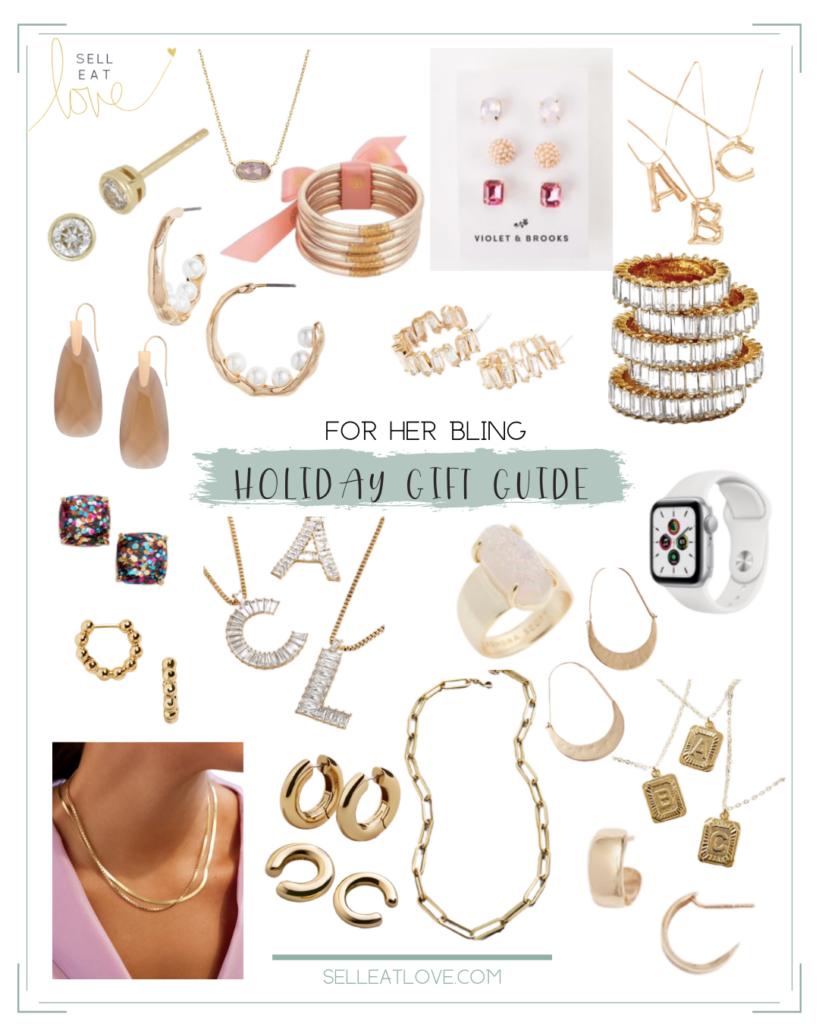 Gift Guides for her Bling