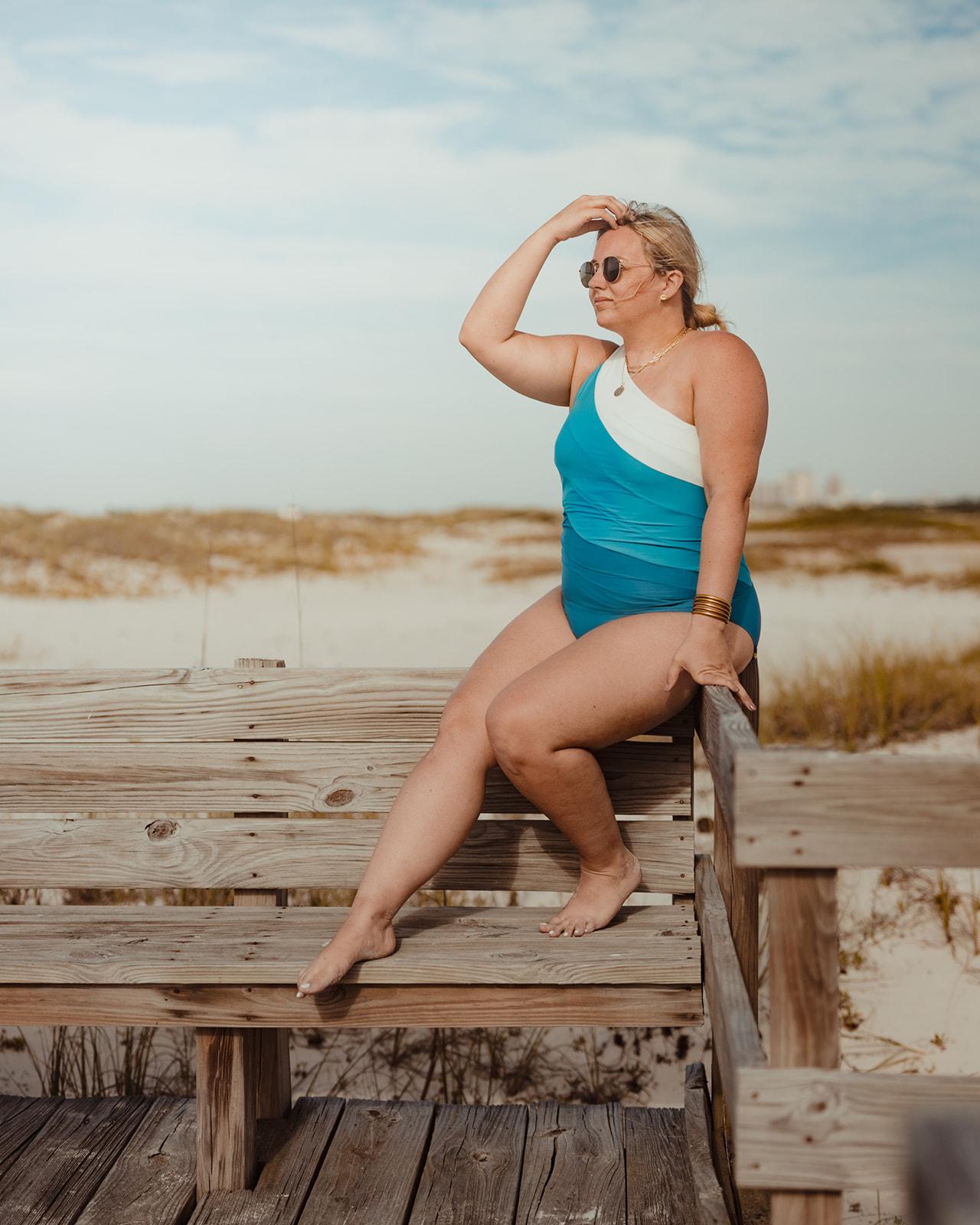 Summersalt Sidestroke One Piece Swimsuit