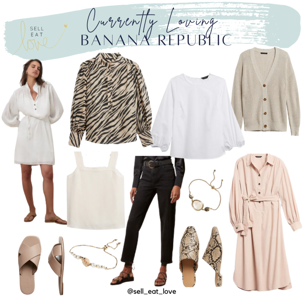 Roundup of Banana Republic New Arrivals for Fall. SellEatLove.com